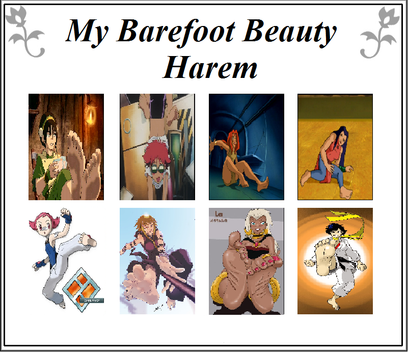 My Barefoot Harem by Match25
