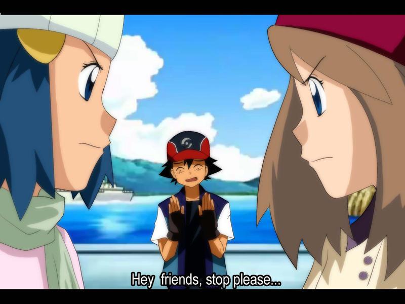 Ash misty and mai threesome