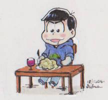 The tiniest dinner