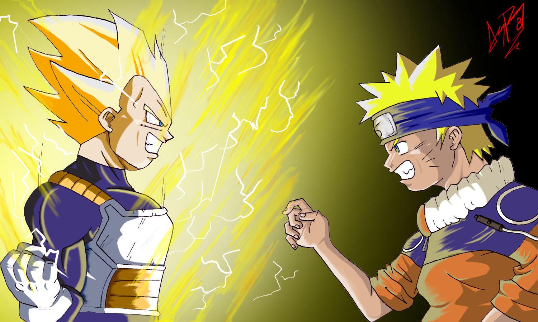 Vegeta vs Naruto by AcademicoVegeta Vs Naruto