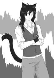 Mr. Cat by HaruKaro