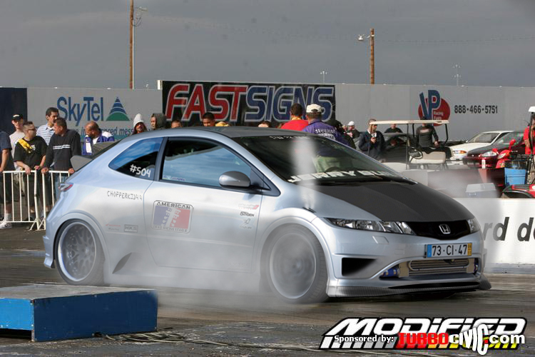 Honda Civic Drag Car by