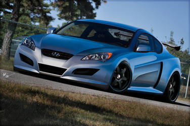 Widebody Genesis Coupe by chopperkid44