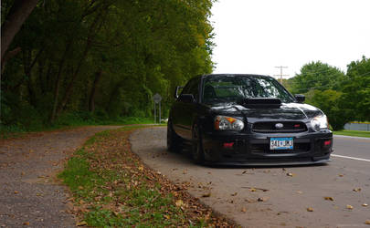 Fitted WRX STi by chopperkid44