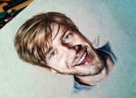 Pewdiepie drawing! (Derwent artist)