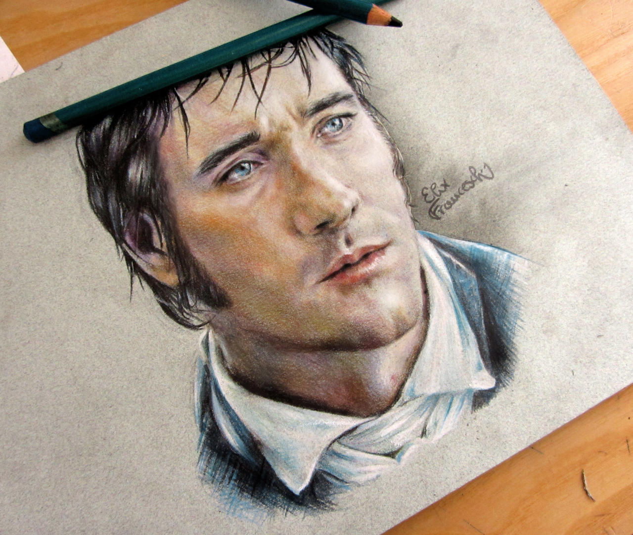 Matthew Macfadyen as Fitzwilliam Darcy by ElixFranceschini