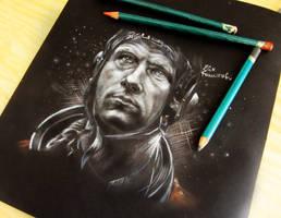 Leon Ockenden in -The Cosmonaut- by ElixFranceschini
