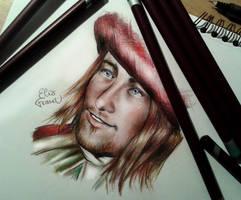 Leonardo da Vinci from Assassin's Creed II by ElixFranceschini
