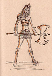 Female-warrior Concept 001 1