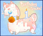 [Leggies] Birthday Snek -Closed