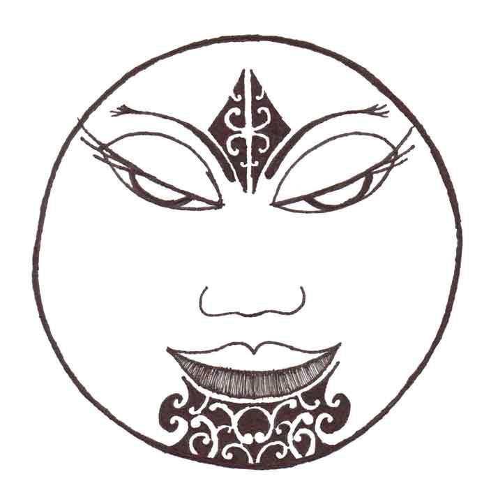 maori moon te marama by endymion85 on deviantart. Black Bedroom Furniture Sets. Home Design Ideas