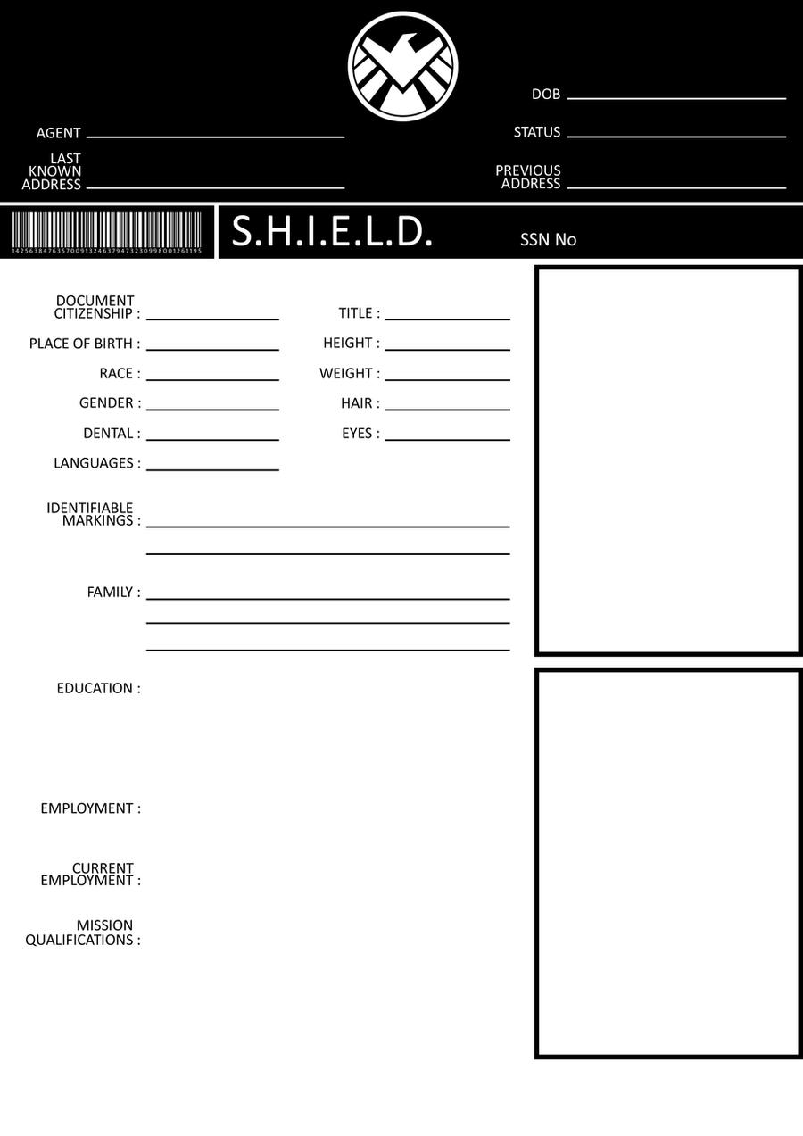 templating agent - avengers s h i e l d template by gasukai on deviantart