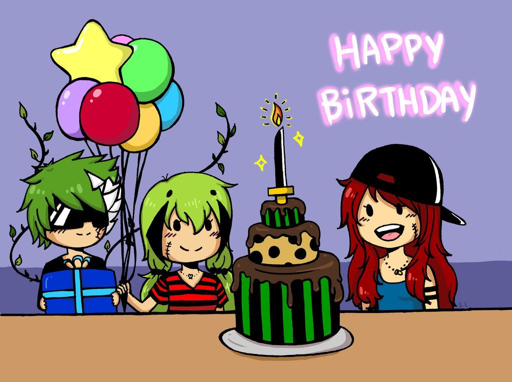 Kaji's Birthday by SotokuA