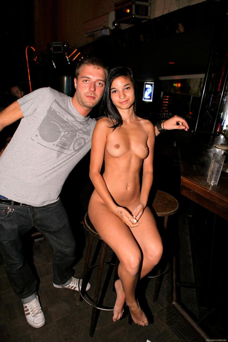 Nude in public by nika-art-nikola