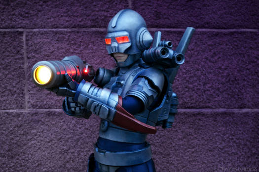 Turrican 2 cosplay - Shoot or die