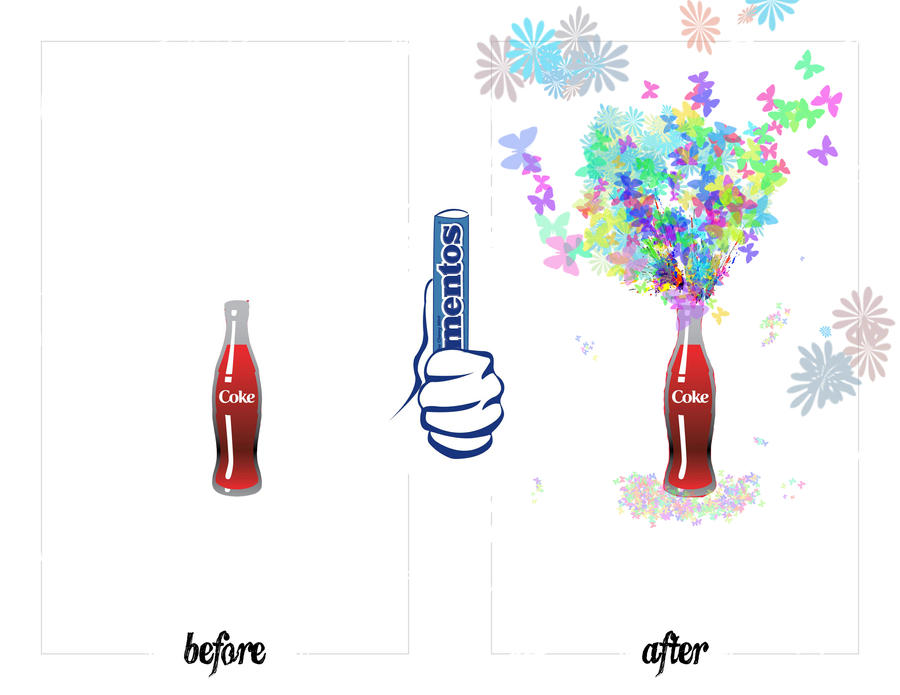 mentos and coke Have you heard about the mentos in coke phenomenon it's a simple science experiment that your kids will go nuts for try it out for yourself and teach your kids some simple science facts.