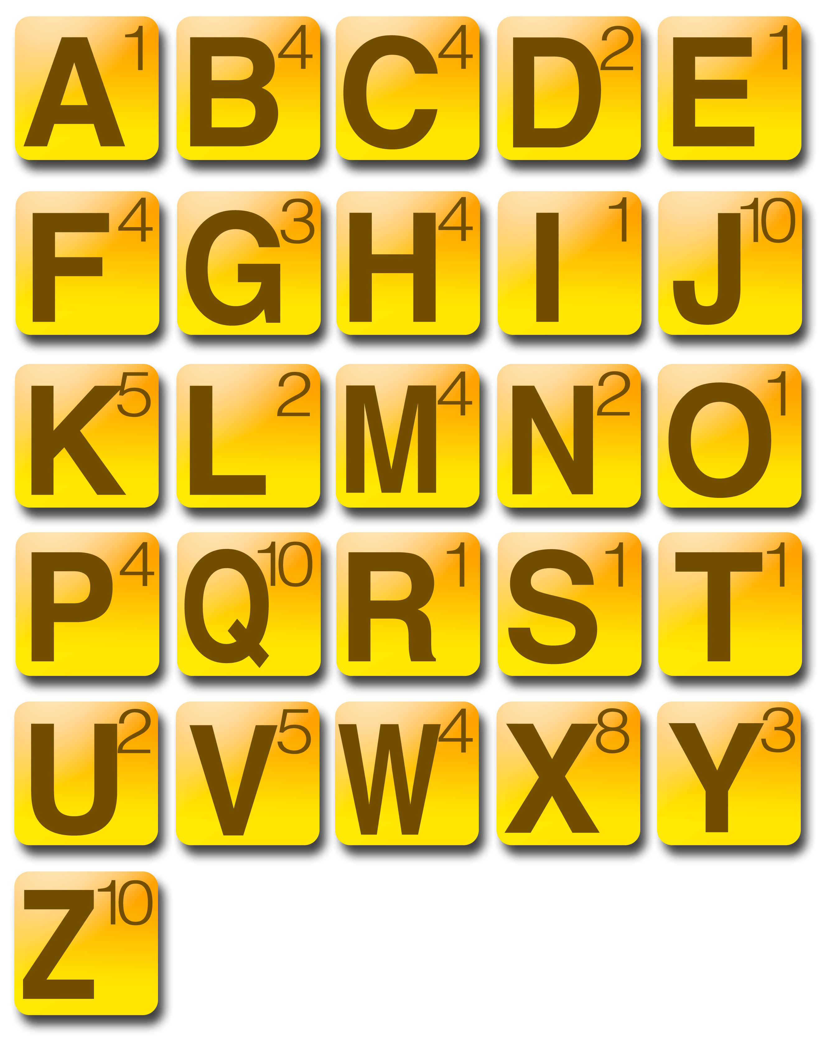 How Many Letters In Words With Friends