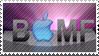 BAppleMF Stamp by MrArtsy