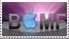 BAppleMF Stamp by MrArtsy