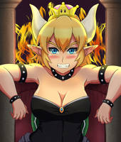 Bowsette by ToraXD001
