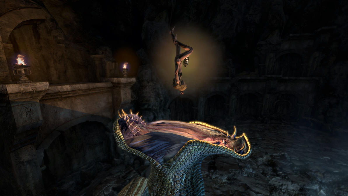 Dragon's Dogma Archydra Vore 23 by Iffy350