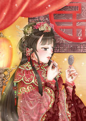 chinese traditional bride