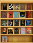 I-pad bookshelf
