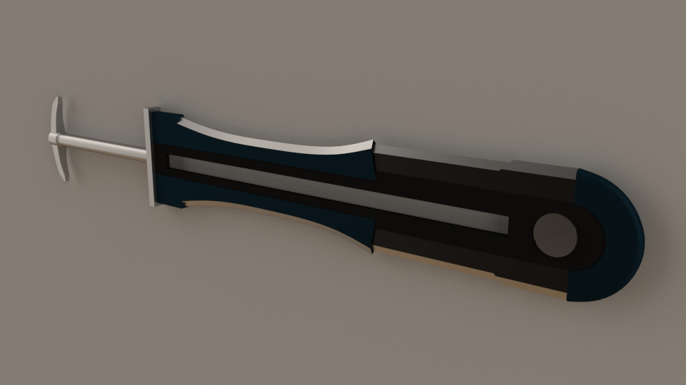 RWBY OC: Melli Poleard's Weapon [WIP] by Were-wolf-101