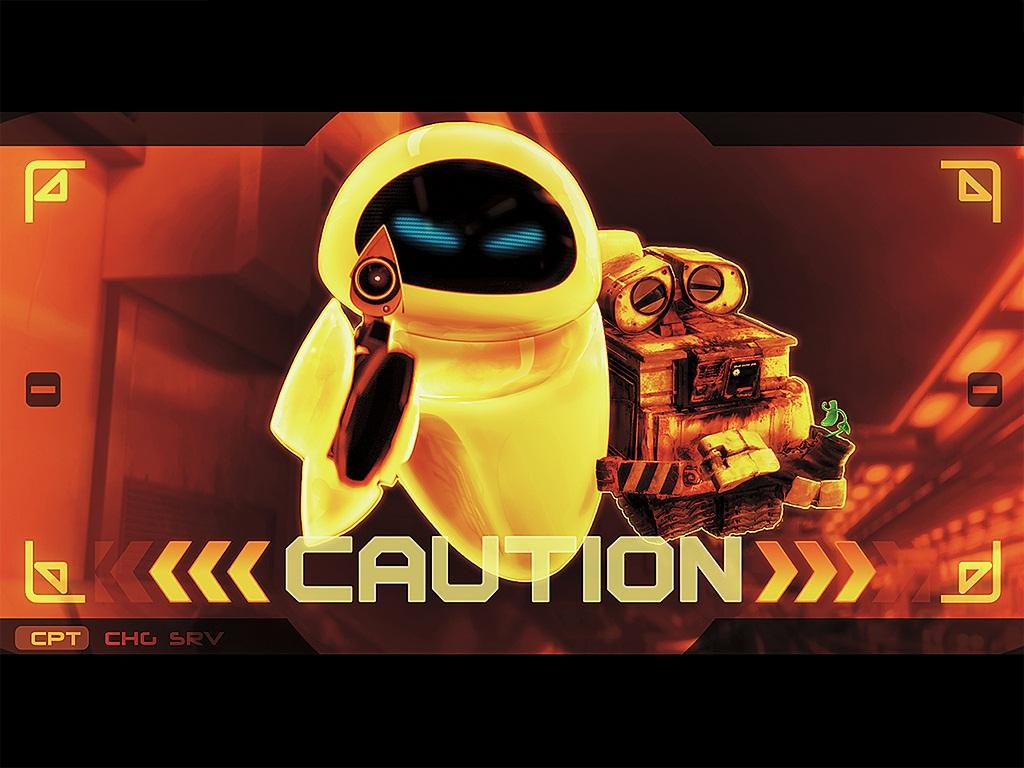 Wall E Caution By Paullus23 On Deviantart