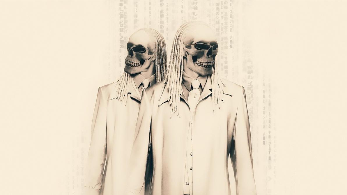 matrix skull by Paullus23