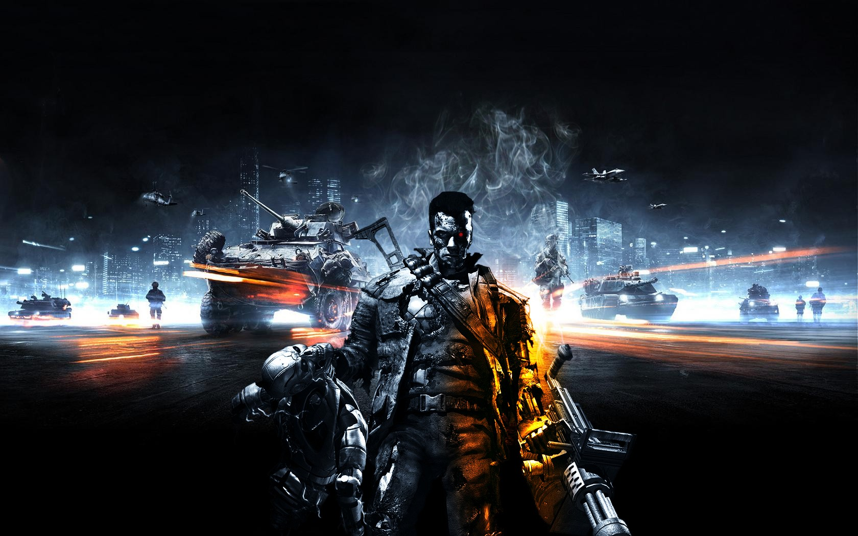 Terminator Battlefield 3 By Paullus23 On DeviantArt