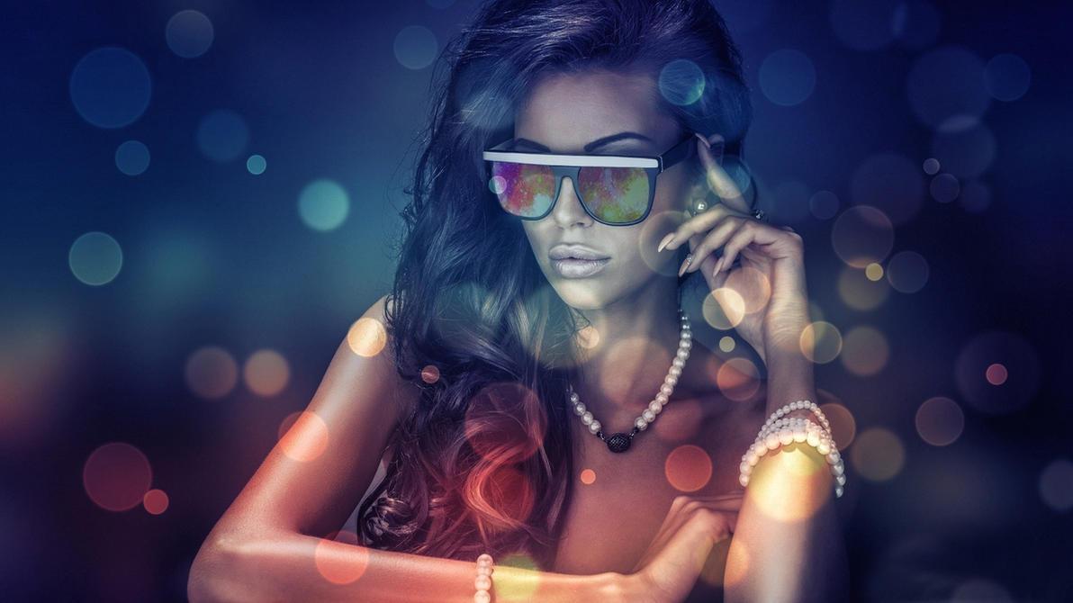 Womenbrunettesglasses by Paullus23