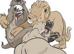 Commission_Hyena Tickled
