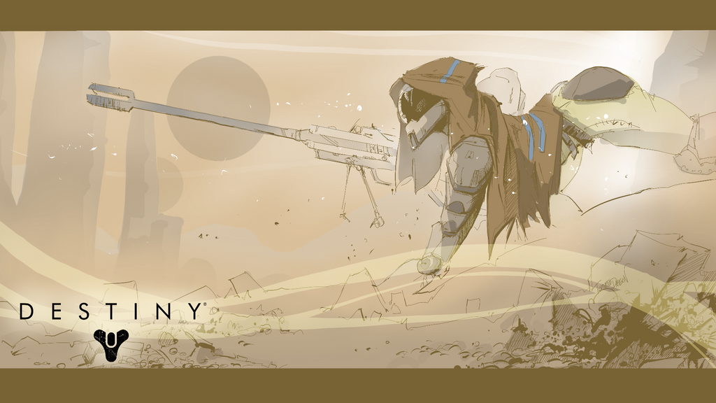 Destiny Hunter Wallpaper By PawFeather On DeviantArt