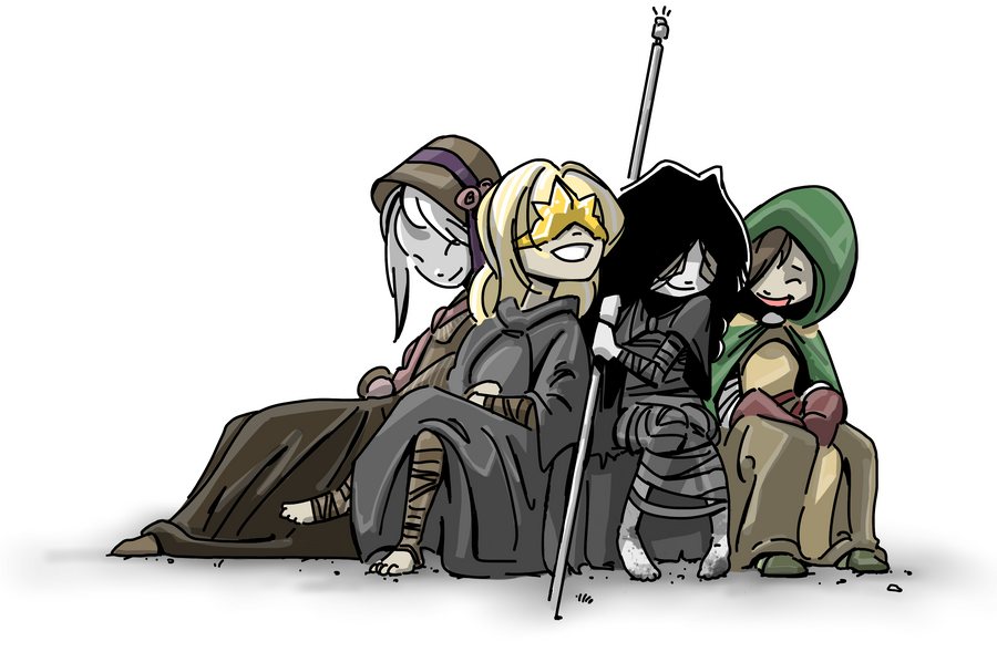 5 Things We Learned About Dark Souls 2 From Today S: The Ladies We Love By PawFeather On DeviantArt