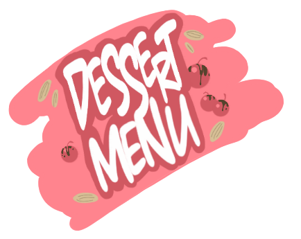 DessertMenu drips by PawFeather