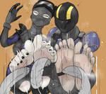 Planetside Feet Tickling