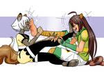 Yoya and Toshiyuki Feet Licking Fun