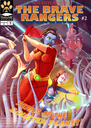 Adventures of the Brave Rangers #2 Available Now by PawFeather