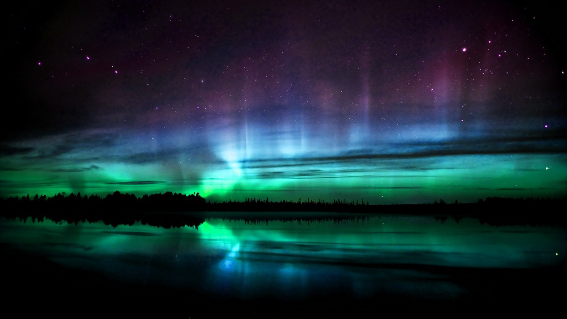 Nothern Lights (Blue Aurora) by onlyouniverse