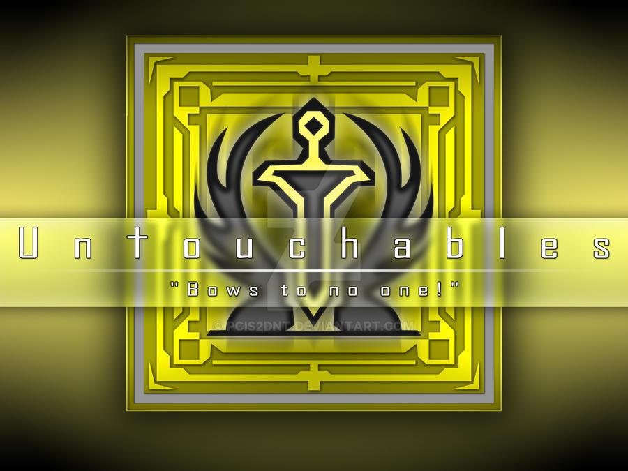 untouchables guild emblem by pcis2dnt on deviantart