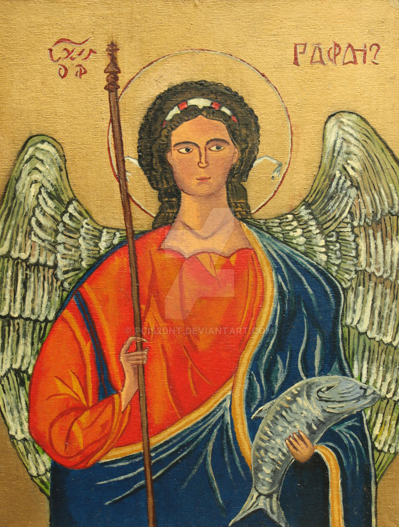 Archangel Raphael: the icon, in what helps, the prayer for healing 74