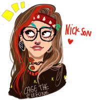 Nickson my little punk by temporaryWizard