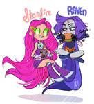 Raven Starfire Nomnoms