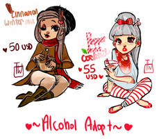 Alcohol Adopts 4 by temporaryWizard