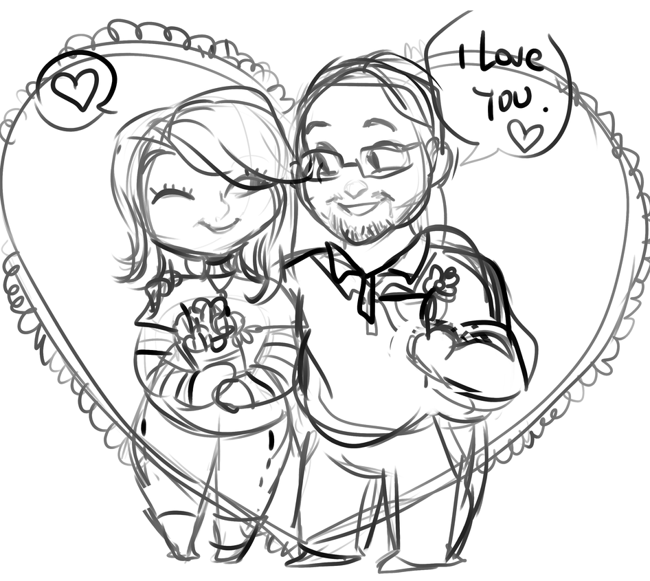 anniversary WIP commision by temporaryWizard