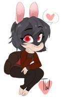 in stream Cad Chibi Bunny by temporaryWizard