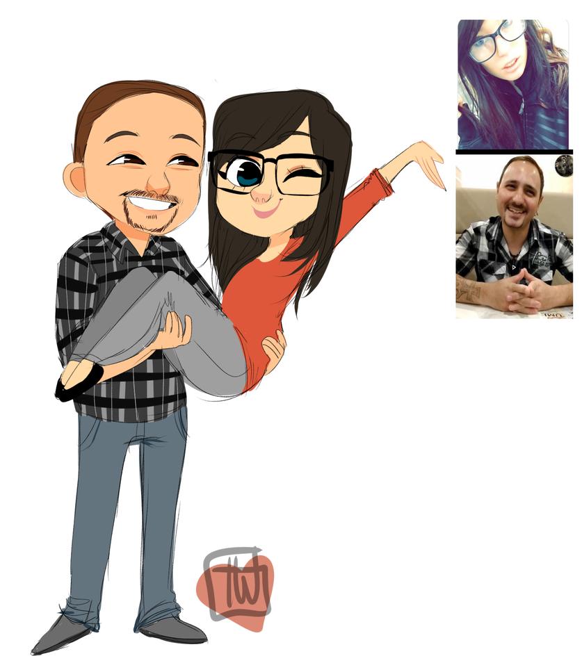 Xxbigbrass Couple comm by temporaryWizard