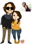 Ziggy Chibi Couple commission