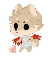 in stream Asma Mini Chibi Winged Furry by temporaryWizard